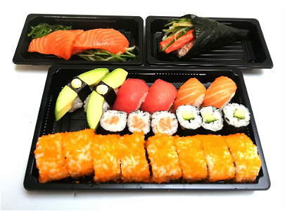 Foto Box 6, luxe sushi mix voor 1 persoon