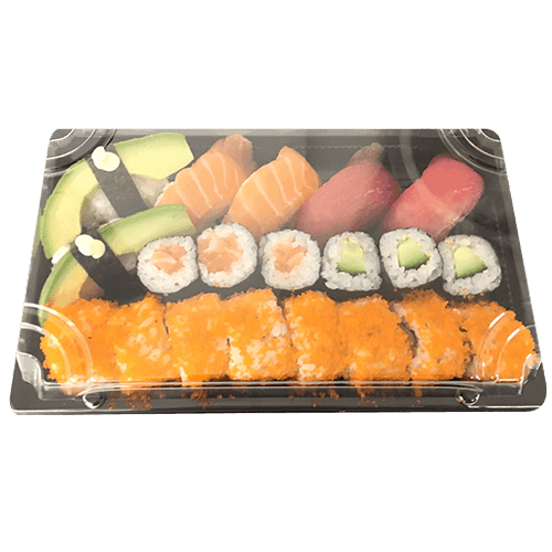 Foto Box 4, sushi mix voor 1 persoon
